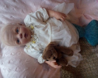 Mermaid Baby Reborn Doll