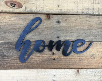 Home sign - Farmhouse style decor