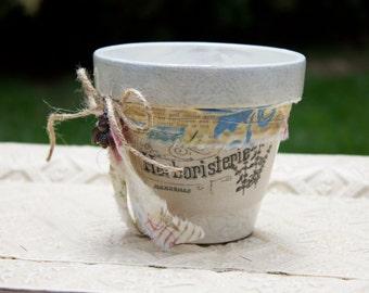 Herb Flower Pot