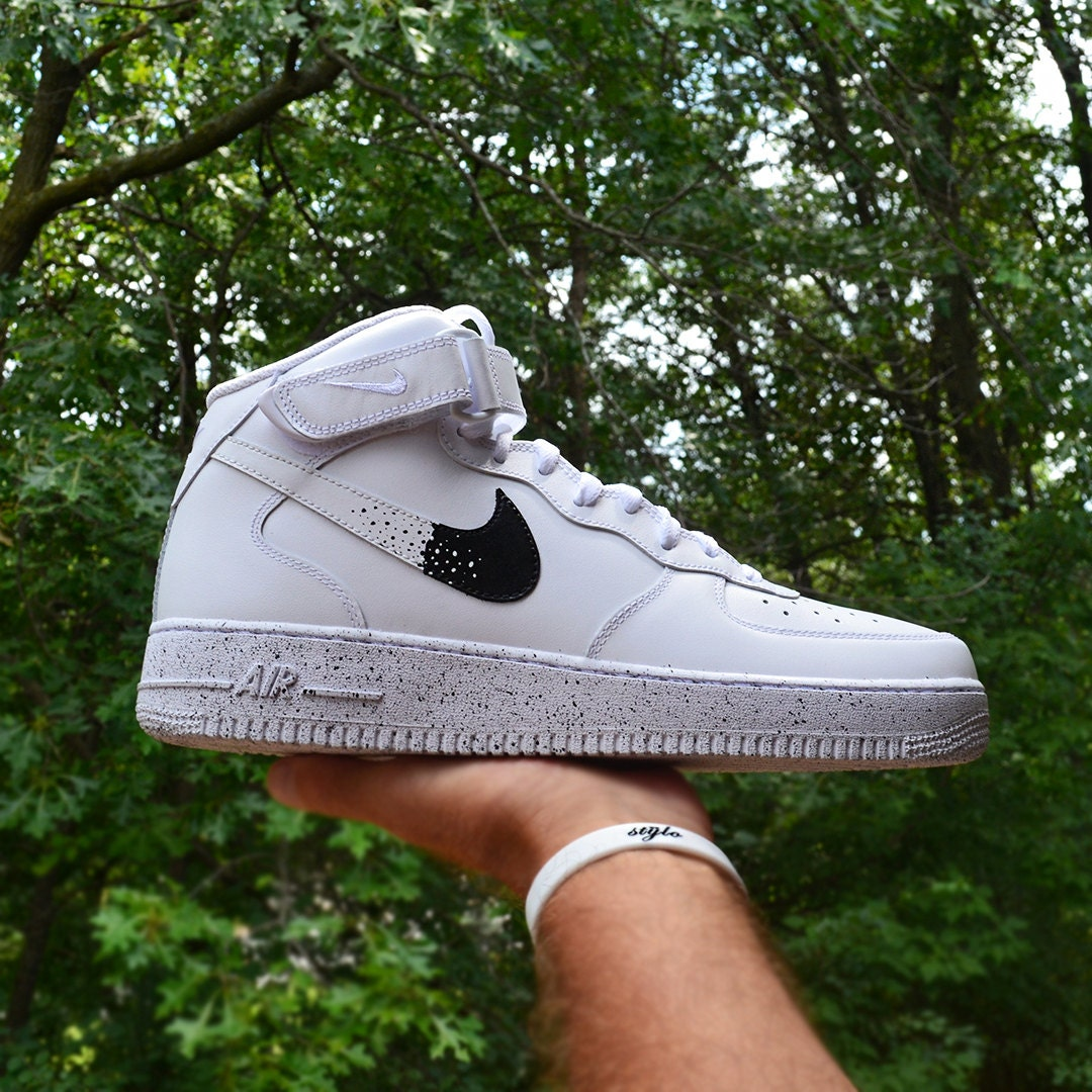nike air force 1 oreo white