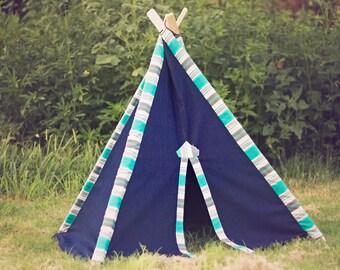 SALE!!!! Kid's Teepee Play Tent No. 0297