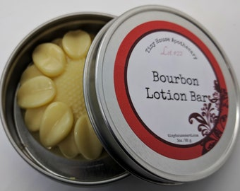 Bourbon gift, beauty bar, skin repair, Lotion bars, natural skincare, solid lotion, bourbon gift idea, novelty gift, whiskey smell, gift