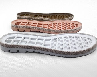 Women Soles for sneakers - Lightweight rubber soles for felted and leather women shoes - Soles women footwear - Soles for felted boots