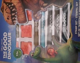 Ink pads and pens the good dinosaur