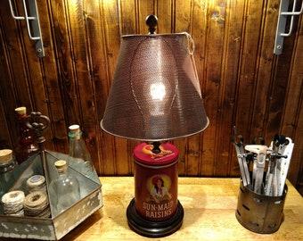 Sun-Maid Raisin Table Lamp