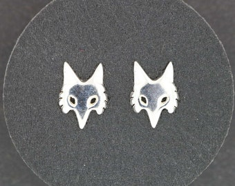 Gold Fox Stud earrings Made to Order