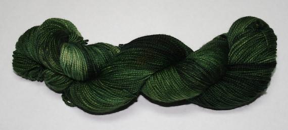 Ready to Ship - Dragon Hand Dyed Sock Yarn - Tough Sock