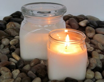ANY FRAGRANCE - 4-oz soy jar candle