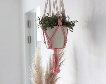 Macramé Plant Pendant Midi