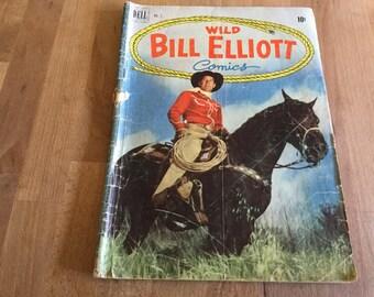 Wild Bill Elliott Comics no 2 1950 Dell Comics