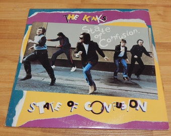 The Kinks State Of Confusion Vinyl Record LP Album