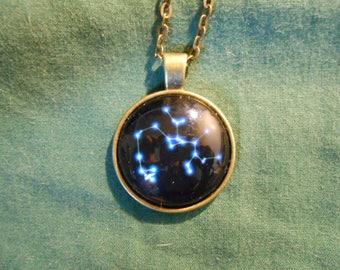 Zodiac star Sagittarius necklace