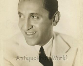 Abe Lyman big band leader antique jazz music photo