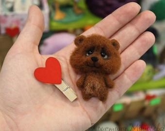 Brooch Bear