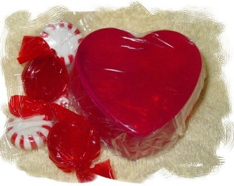 Romantic Heart Soap