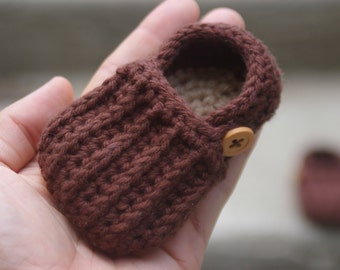 Baby Boy Booties CROCHET PATTERN for  Easy On Loafers Crochet Pattern 104 - Instant Downloads L
