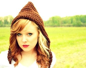 Hobbit Hat, Pixie Hat, Gnome Hat