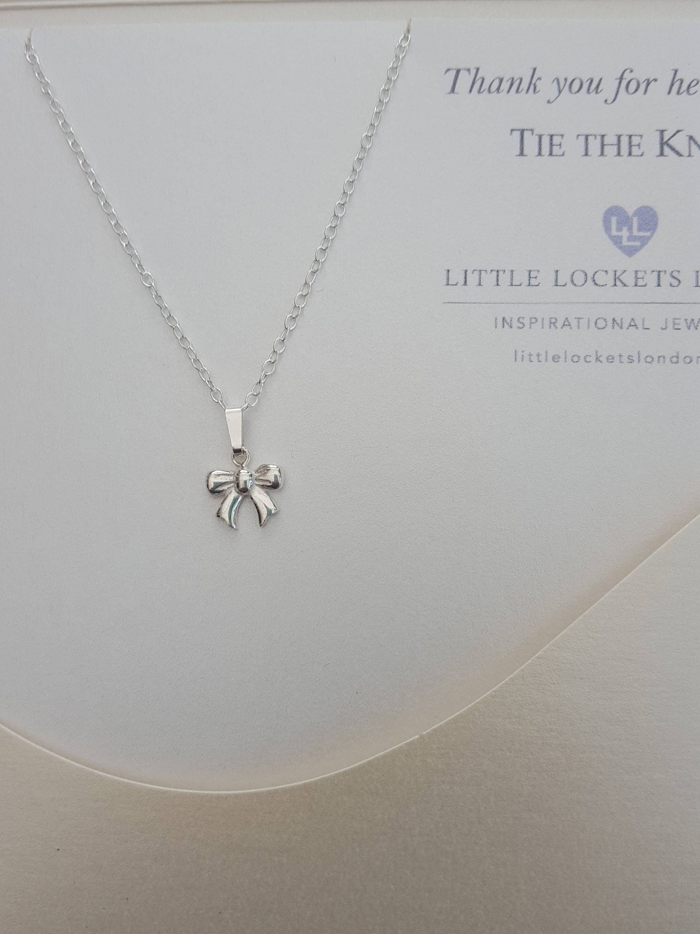 quot necklaces jewellery a necklace bow on sterling zoom something silver rose simply plated little gold