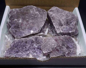 Lepidolite Collection 1 Lb Layered Lavender Lithium Mica Crystal