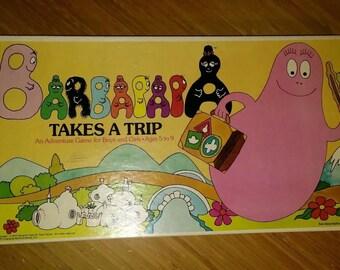 BARBAPAPA takes a trip VINTAGE 1977 board game  Tison Taylor
