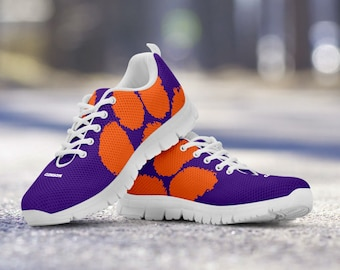 Clemson Tigers Fan Custom Unofficial Shoes/Sneakers/Trainers - Ladies, Mens, Kids Sizes, gift