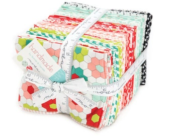 SALE - Handmade Fat Quarter Bundle from Bonnie and Camille for Moda Fabrics, 40 fat quarters