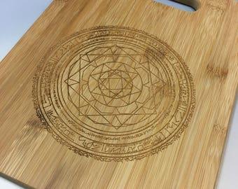 Dr. Strange Magic Circle Bamboo Cutting Board-Medium