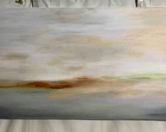 La peinture de paysage. Couleur1.