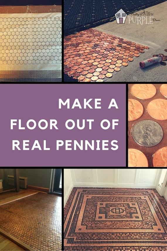 Penny floor template penny template diy penny floor penny maxwellsz