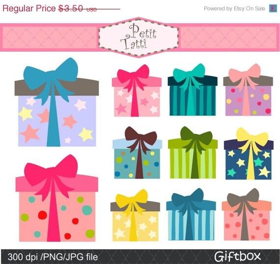 On sale gift box clip art digital clip art gift box 2 clip zoom negle Choice Image
