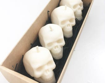 Skull Tealight Gift Box