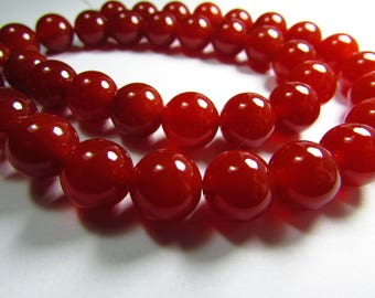Set of 2 10 mm Agate beads