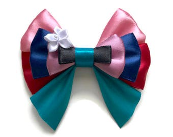 Mulan Disney Inspired Character Hair Bow