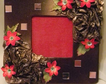 Burnt Gold Decor Picture Frame