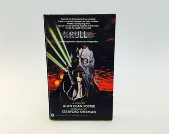 Vintage Fantasy Book Krull Film Novelization 1983 Paperback