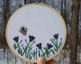 DIY Embroidery Kit - Spring Garden