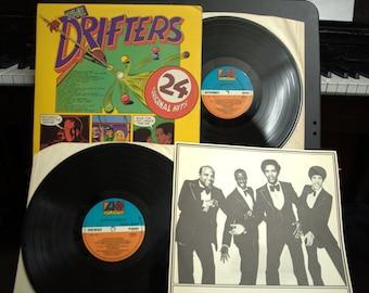Drifters - 24 Original Hits, UK Atlantic 2LPs, NM