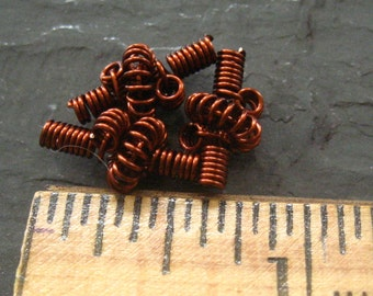 Hand Coiled Beads Hypo Allergenic Quantity 3