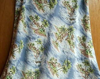 Old Navy tropical skirt