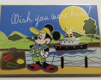 Disney Shopping Mickey Mouse Postcard Series Pin
