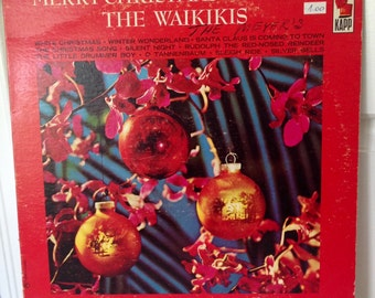Merry Christmas in Hawaii Vinyl LP