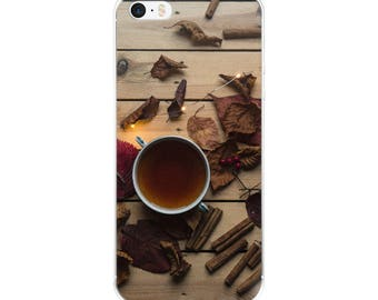 Autumn Cinnamon and Cider Seasons iPhone Case