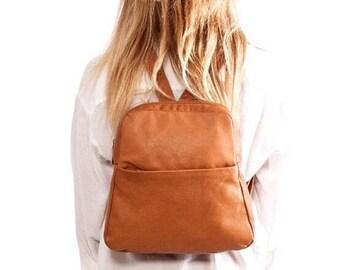 Sale!!!  Travel leather backpack back pack purse leather bag Women's leather bag Backpack women handmade rucksack - Batia Bag