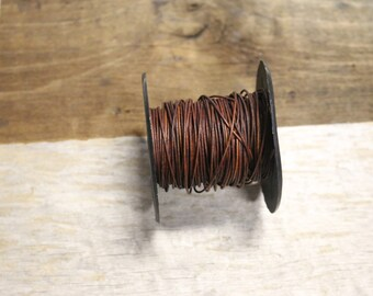 Natural Red/Brown Leather .5mm
