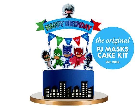 Pj Masks Cake Kit