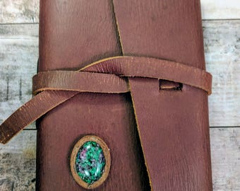 Genuine Leather Travel Journal