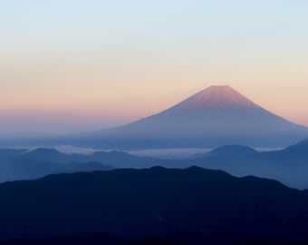 Mt Fuji Photo Print - Mountain Fuji - Fuji Photography - Mountain Digital Photo - Fuji - Digital Photo - Digital Download - Wall Art