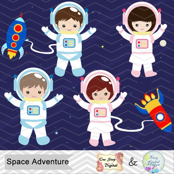 astronaut in space clipart - photo #33