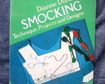 Durand, Dianne - Smocking (Dover Publications, Inc.; New York; 1979; First Edition 1st Printing; Very Good Paperback) USED