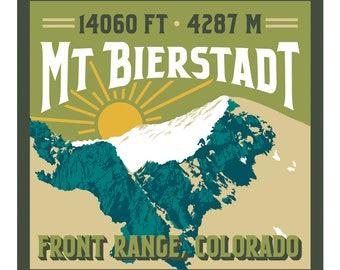Mt. Bierstadt Print